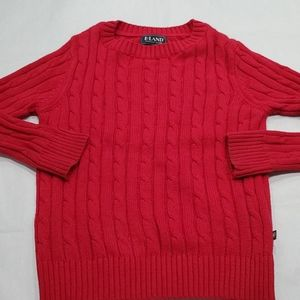 E. Land Kid's Red Sweater